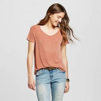 Women's Short Sleeve Softest V-Neck T-Shirt - Mossimo Supply Co.™