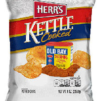 Herr's Products - Old Bay Kettle Cooked Potato Chips
