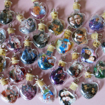 Ship in a Bottle Custom Tiny Heart Charm for iPhone, Samsung, Nintendo, PSP, PS Vita or iPod