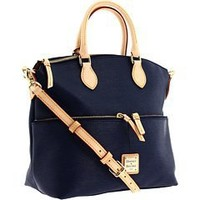 Dooney & Bourke Cork Pocket Satchel, Navy