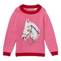 Pink Horse Sweater
