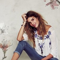 Free People Top & Jeans | Nordstrom