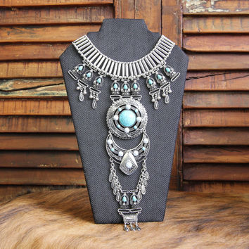Boho Necklace Tahia