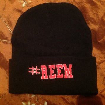 REEM beanie hat. TOWIE. The Only Way Is Essex