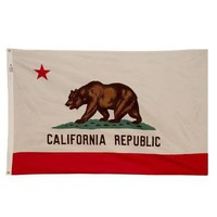 Valley Forge Flag 3 ft. x 5 ft. Nylon California State Flag-CA3 at The Home Depot