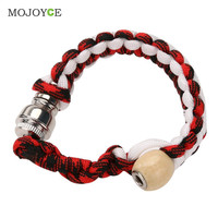 New Men Women Portable Metal Bracelet Smoking Pipe Jamaica Rasta Weed Pipe  SN9