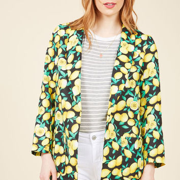 Caught in a Citrus Cycle Blazer