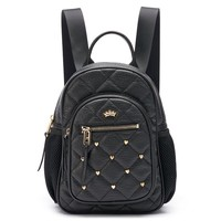 Juicy Couture Studded Mini Backpack (Black)
