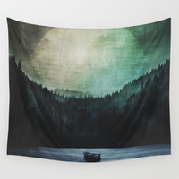 Great mystical wilderness Wall Tapestry by HappyMelvin