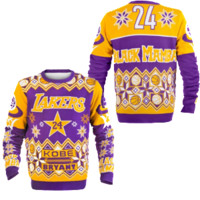 Los Angeles Lakers Kobe Bryant Official NBA Ugly Sweater