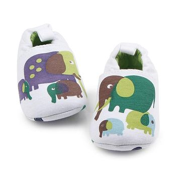 Cute Cartoon Animals Kids Baby Shoes New Style Soft Soled Anti-Slip Loafer Casual Newborn Girls Boys Infant Toddlers Shoe 0-18m