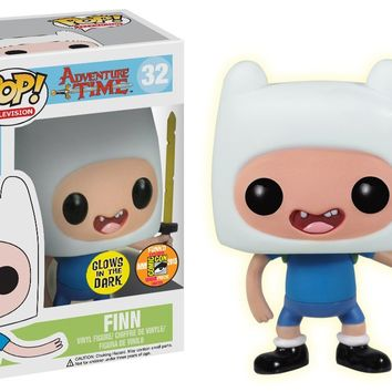 Funko POP Television Finn with Sword Adventure Time Vinyl Figure (SDCC Exclusive)