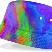 Sky is The Limit Bucket Hat created by Christy Leigh | Print All Over Me