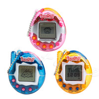 90S Nostalgic 49Pets Virtual Cyber Pet Game Child Toy Key Buckles