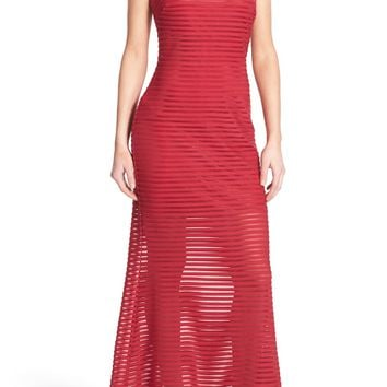 Jump Apparel Strapless Illusion Gown   Nordstrom