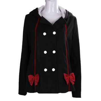 Anime Seraph of the end Krul Tepes Hoodies Cosplay Cotton Jackets Winter Sweatshirts Cute Girl Coat Halloween