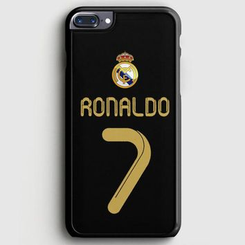 Real Madrid Ronaldo Cr7 Jersey iPhone 8 Plus Case | casescraft