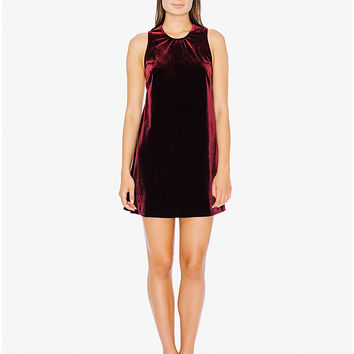Velvet Dakota Mini Dress | American Apparel