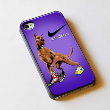 Nike Just Do It Scooby Doo For iPhone 5 Case or iPhone 4/4S Case