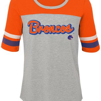 Boise State Broncos Retro Spirit Teen Girls Tee