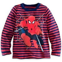 Spider-Man Striped Long Sleeve Tee for Boys | Disney Store