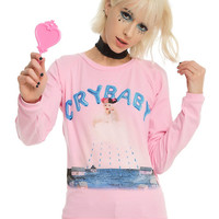Melanie Martinez Cry Baby Girls Pullover Top