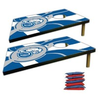 Drake University Corn Hole Bag Toss Game (Design 4)