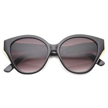 Women's Euro Cat Eye Oversize Sunglasses A005