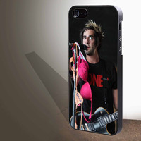 """Jack of All Time Low s mic stand for iphone 4/4s/5/5s/5c/6/6+, Samsung S3/S4/S5/S6, iPad 2/3/4/Air/Mini, iPod 4/5, Samsung Note 3/4 Case """"005"""""""