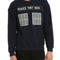 Doctor Who TARDIS Crewneck Sweatshirt