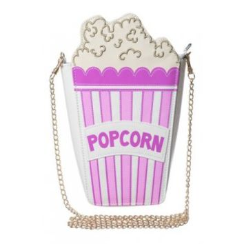 Skinny Dip London | Popcorn Faux Leather Cross Body Bag | Spoiled Brat