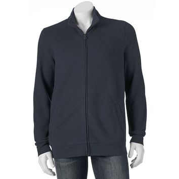 Croft & Barrow Fleece Full-Zip Sweatshirt