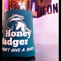 Brand X T-Shirts — Honey Badger Can Koozie