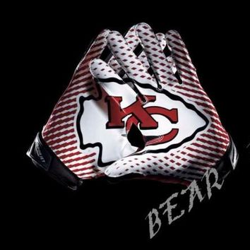 Kansas City Chiefs Glove 3x5 ft flag 100D Polyester flag 90x150cm NFL custom american football gloves flag