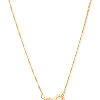 FOREVER 21 Square Linked Necklace