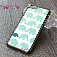 Phone case, iphone 6 case, iphone 6 plus, iPhone 5s case, iPhone 5c case, Elephants, Galaxy S5 case, Note2 Note3 case, Phone cover-012
