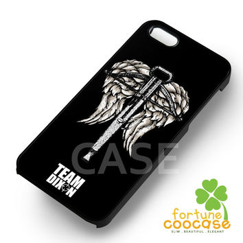 Daryl dixon walking dead team crossbow -s4rw for iPhone 6S case, iPhone 5s case, iPhone 6 case, iPhone 4S, Samsung S6 Edge