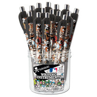 24 Pack Tokidoki Dimple Grip Pen Canister  MLB San Francisco Giants