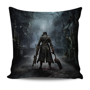 Bloodborne Hunter Pillow