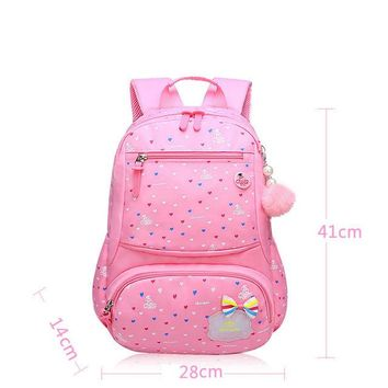School Backpack Lovely Girls School Bags Children Backpack Primary Bookbag Princess Backpack Schoolbags Fashion s For Girls AT_48_3