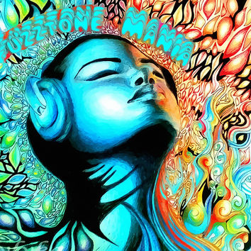 Psychedelic Trippy Art Poster