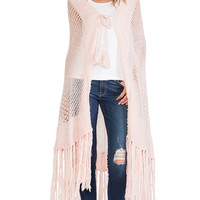 Wildfox Couture Garden Shawl in Pink