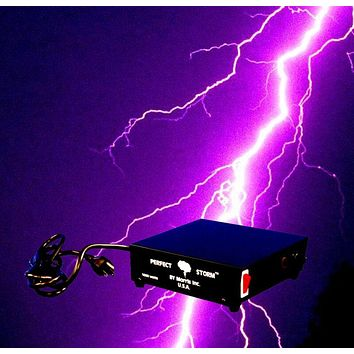 DJ Special Effects, PERFECT STORM, Thunder Sounds, Lights, Controller, Halloween Prop