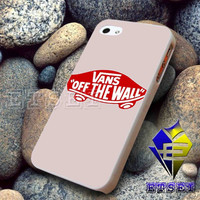 Vans Off The Wall Red Badge Logo Design For iPhone Case Samsung Galaxy Case Ipad Case Ipod Case