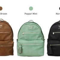 Monopoly Leather Backpack