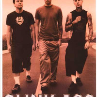Blink-182 On the Road Poster 12x18