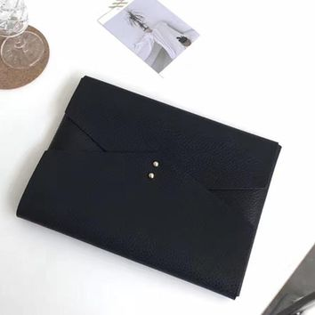 Luxury Bags Women Soft Leather Women's handbags Fashion Clutch Purses European Simple Clutch Envelope Bag Female bolsa