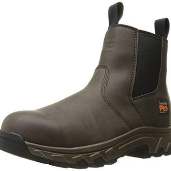 Timberland PRO Men's Linden Chelsea Alloy Toe Industrial and Construction Shoe  timberland boots for men