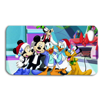Disney Characters Christmas Custom Case for iPhone 4/4s and iPhone 5/5s