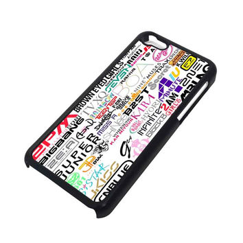 KPOP ALL BAND iPhone 5C case